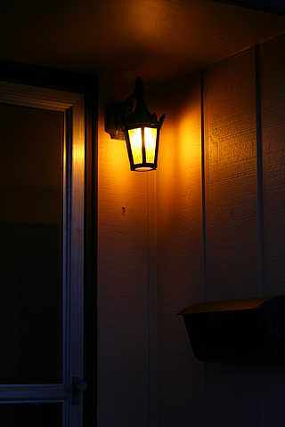 garden lighting shop deco medium manhattan light in exterior type porch sensor lantern american chain hanging styles art traditional bronze lights lincoln and style by