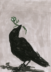 crow___flower_by_ormery