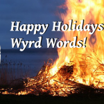 Wyrd Words: Merry Christmas!
