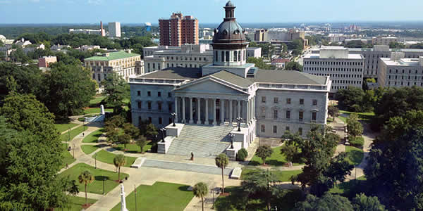 """South Carolina State House"" by HaloMasterMind - Own work Licensed under CC BY-SA 3.0 via Wikimedia Commons."
