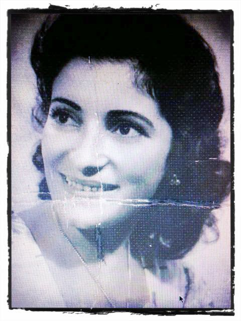 My mother, Ana (Photo: Romanian Studio, ca. 1968)