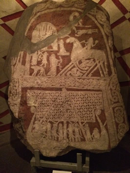 Runestone from Gotland, Sweden. Odin and Sleipnir / Cara Freyasdaughter