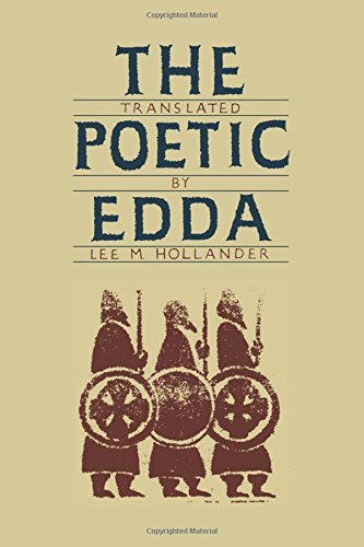 Cover of The Poetic Edda translated by Lee M. Hollander, 1986