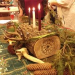 Happily Heathen:  Frithweaving At Yule – A Heathen ADF Ritual For Frigga And Freyr