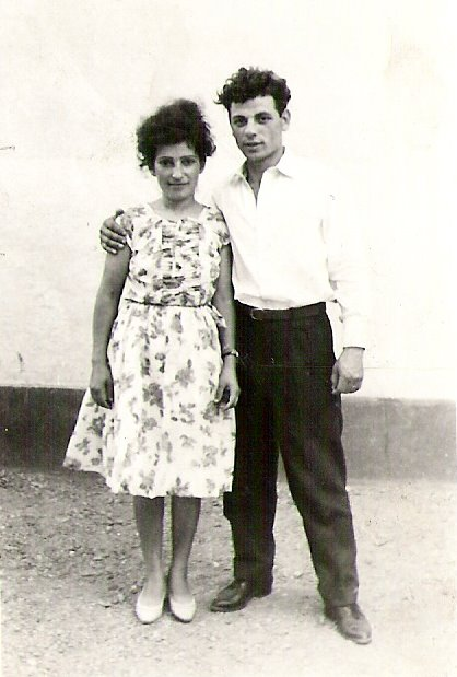 My parents, Ana and Georg