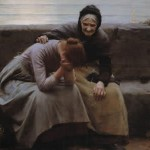 """Walter Langley - Never Morning Wore to Evening but Some Heart Did Break - Google Art Project"" by Walter Langley - DwH1ilq-MsEMwQ at Google Cultural Institute, zoom level maximum. Licensed under Public Domain via Wikimedia Commons."