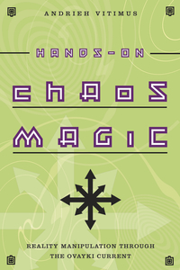 "cover of a book reading ""Hands-on Chaos Magic"""