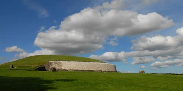 a barrow mound