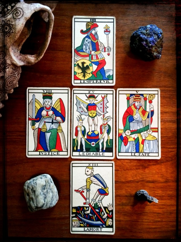 Jean Noblet Marseille Tarot, reconstructed by Jean-Claude Flornoy (Photo: Camelia Elias)