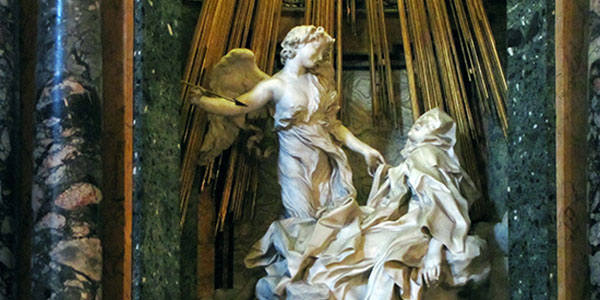 The Ecstasy of Saint Teresa, a sculpture by Gian Lorenzo Bernini.
