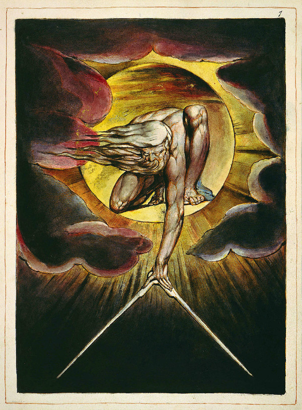 """Europe a Prophecy"" by William Blake.  From WikiMedia."