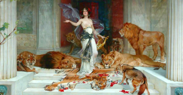 """Circe"" by Wright Barker.  From WikiMedia."