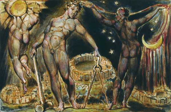 """Jerusalem The Emanation of the Giant Albion"" by William Blake.  From WikiMedia."