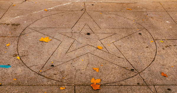 """A Pentagram"" by Sonny Abesamis is licensed under CC BY 2.0"