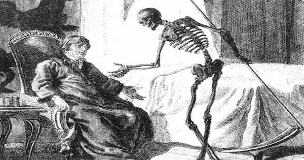 Death. Public Domain Image from WikiMedia.