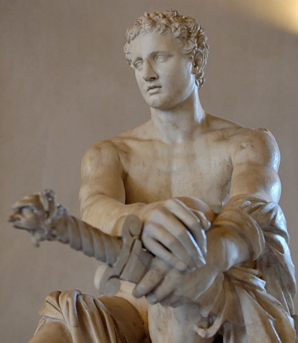 """Ares Ludovisi"" from the National Museum of Rome.  Photo by Marie-Lan Nguyen Public Domain Image."