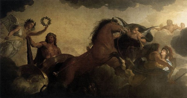 """Hercules"" by Charles Le Brun.  From WikiMedia."