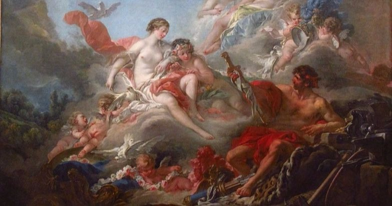 """""""The Forge of Vulcan"""" by Francois Boucher.  From WikiMedia."""