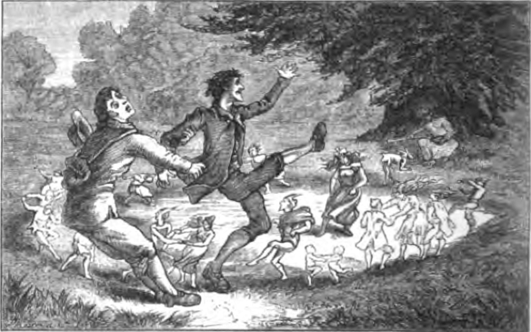 """""""Plucked from the Fairy Circle"""" (1880) from WikiMedia."""