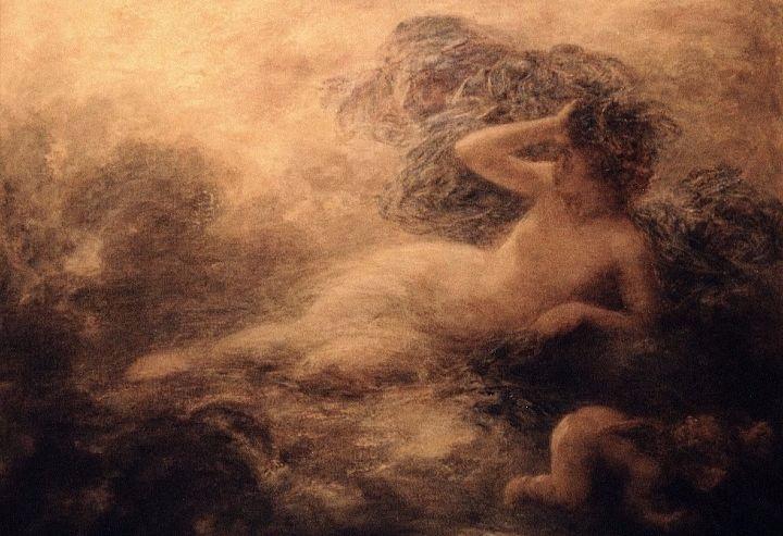 """Nyx"" by Henri Fantin-Latour.  From WikiMedia."