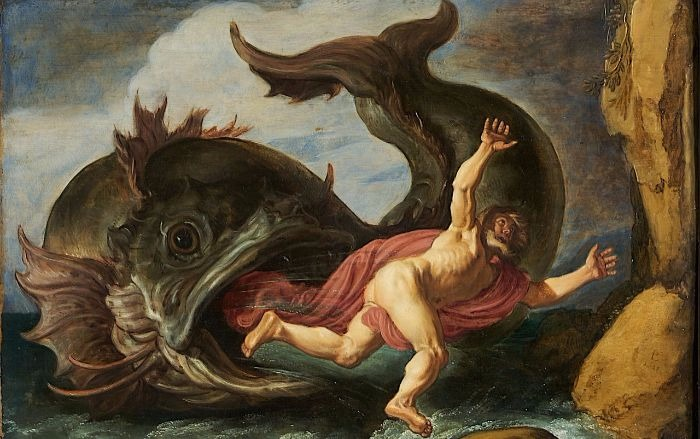 """Jonah and the Whale"" by Pieter Lastman.  From WikiMedia."