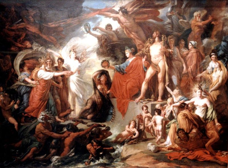"""The Triumph of Civilization"" by Jacques Réattu.  From WikiMedia."