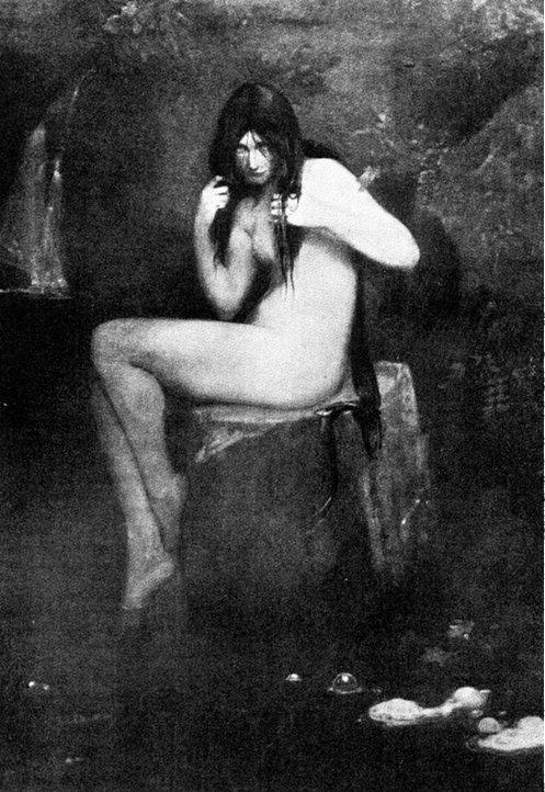 'Kelpie' Thomas Millie Dow 1895, public domain.