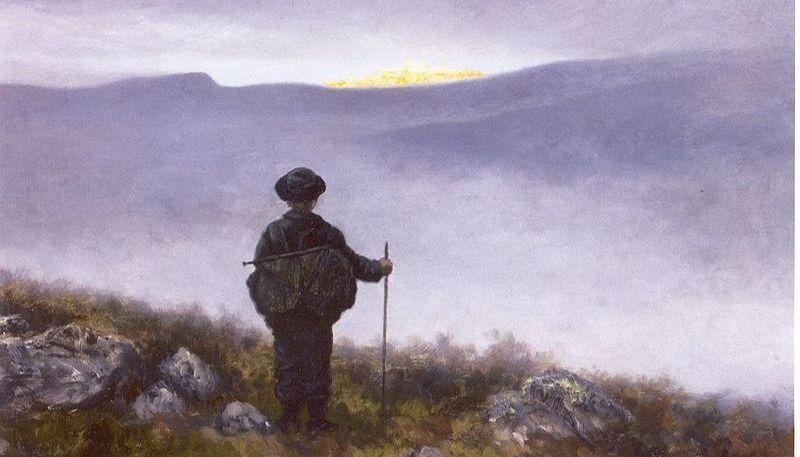"""Soria Moria"" by  Theodor Kittelsen.  From WikiMedia."
