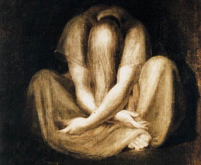 """Silence"" by Johann Heinrich Füssli, from WikiMedia."