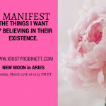 New Moon in Aries – Set Your Target