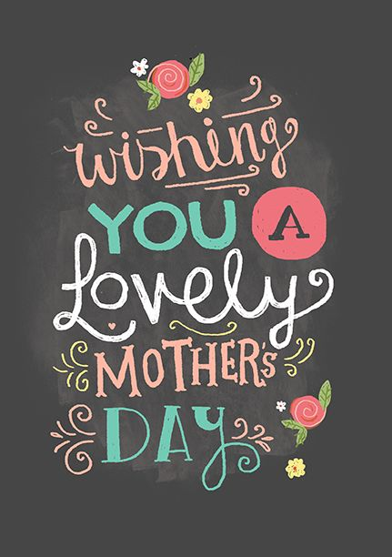wishing you a lovely mother u2019s day
