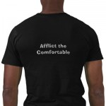 afflict the comfortable