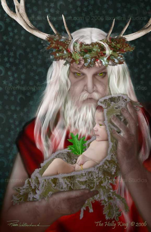 The_Holly_King_by_RavenWillowHawk