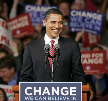 The Obama Victory: A Symbol of American Freedom and African-American Struggle - Essay Example