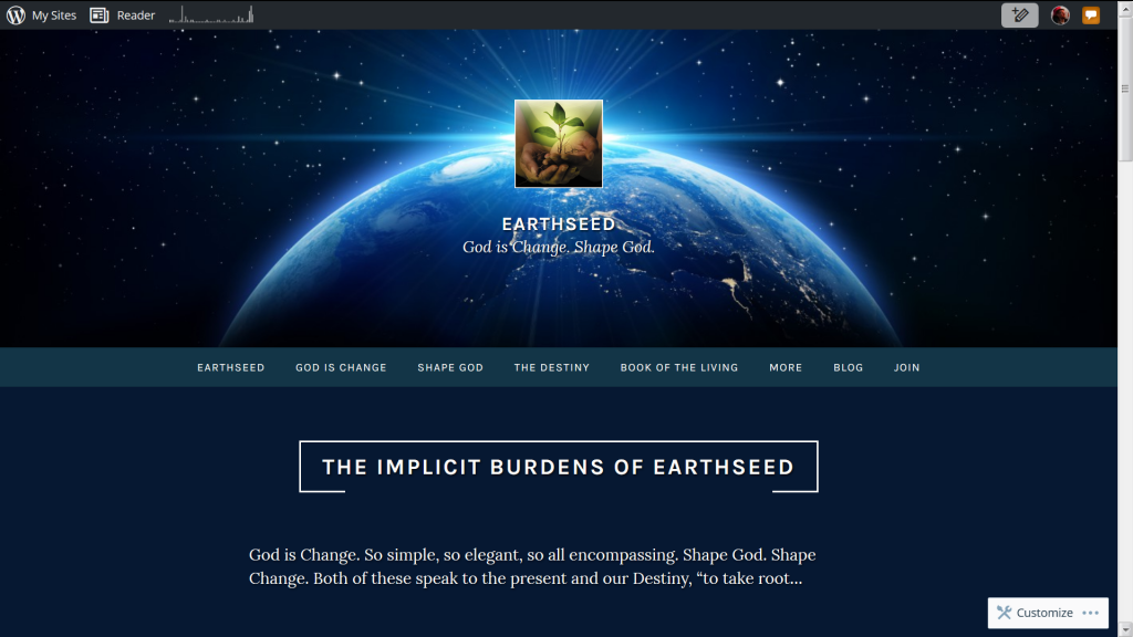 Become a Shaper of Earthseed