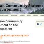 Countdown to Earth Day 2016: #1 Share A Pagan Community Statement on the Environment