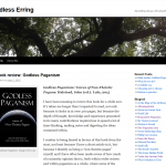 Review of Godless Paganism at Endless Erring