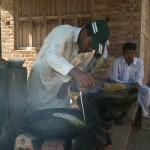 Making Fresh Jilabee (Fried Flour & Syrup) in the Pind (Village)