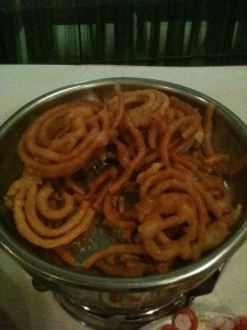 Jumbo Jilabee (Fried Flour & Syrup)