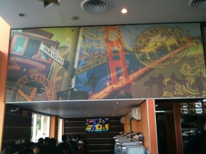 Image of SF Bay Area inside the Hardee's Restaurant in Defence, Lahore. Btw, Try the Jalapeno Thickburger at Hardee's - it's the best burger in Pakistan!