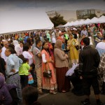 Packed Crowds at Halal Fest, Aug. 17th, 2013 - Photo Credit Vasim Pathan