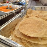 Halwa & Puri (available on weekends only) from Zareen's in Mountain View, CA