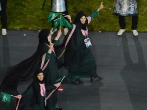 Muslim Women Make History at London Olympics