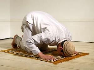 Muslim sujood