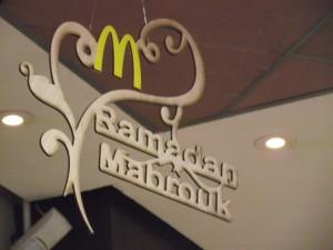 Ramadan McDonalds