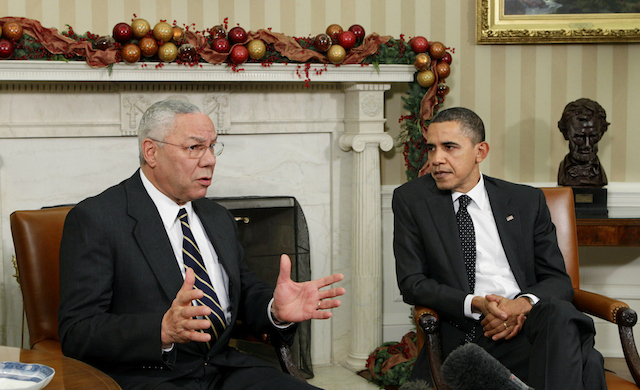 powell muslim On nbc's meet the press this weekend, former secretary of state colin powell formally endorsed barack obama in this year's presidential election.