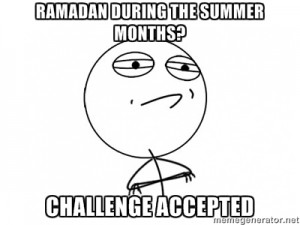 The Conversation in my Head – Ramadan in July