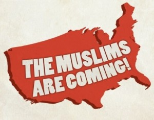 The Muslims are Coming, and Pamela Gellar Isn't Happy (Surprised?)