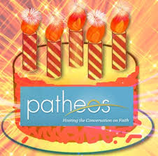 Happy Fifth Birthday to Patheos! (#Patheos5Yrs)