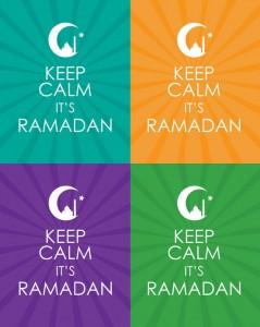 Ramadan calm